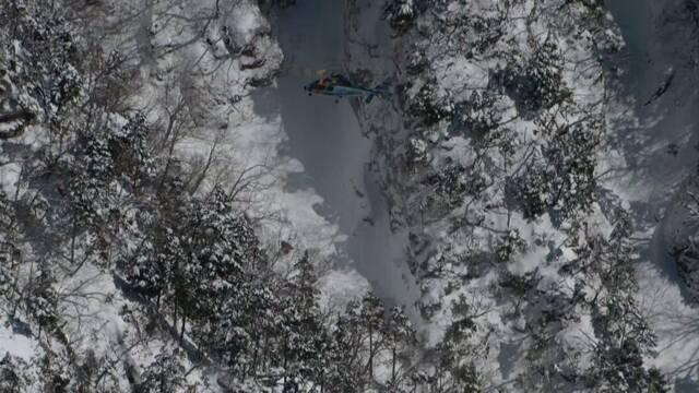 長野県の山に登っていた人が滑って落ちる 3人亡くなる