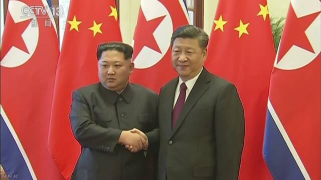 訪中は北朝鮮キム委員長 習主席と初の首脳会談 新華社通信