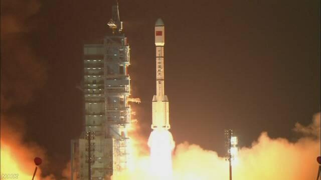 中国の宇宙実験機 破片が地球に落下も 31日~来月初め