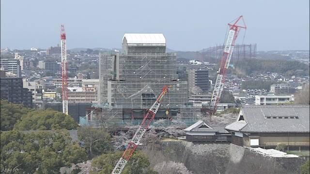 地震で壊れた熊本城を20年で直す計画が決まる