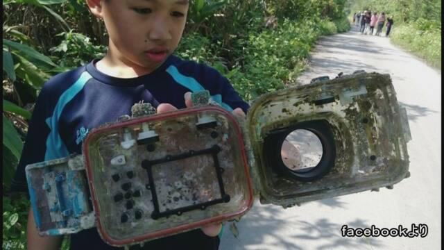 2年以上前に石垣島でなくしたカメラが台湾で見つかる