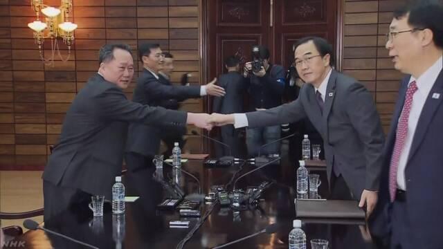南北首脳会談 来月27日開催で合意