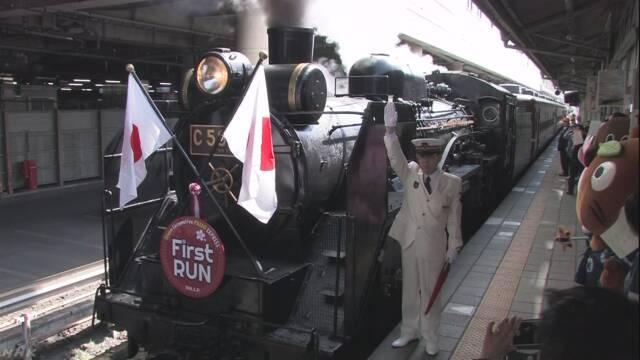 埼玉県 春になって秩父鉄道のSLが走り始める
