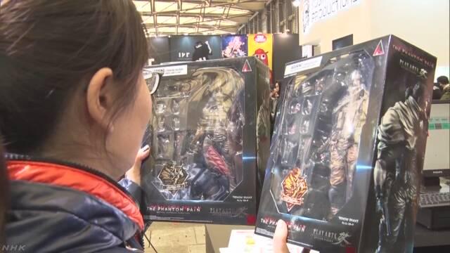35万円の模型を即購入も 日本製フィギュアなど展示即売会 中国
