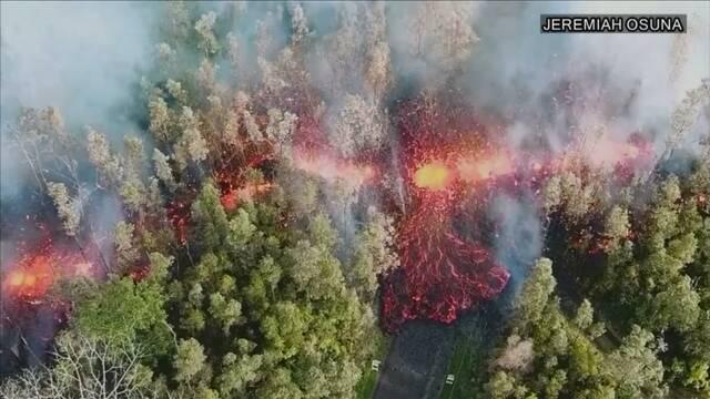 ハワイ島のキラウエア火山噴火 住民に避難命令