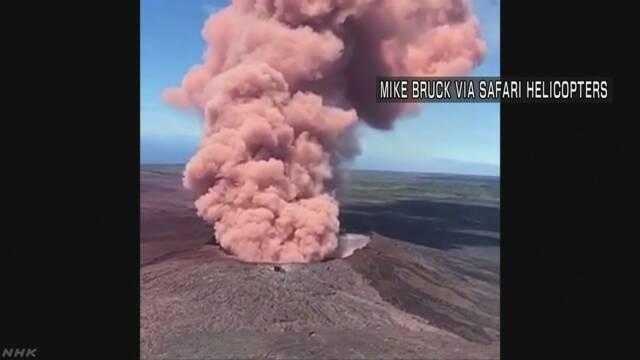 ハワイ島でM6.9の地震  活発な火山活動続く