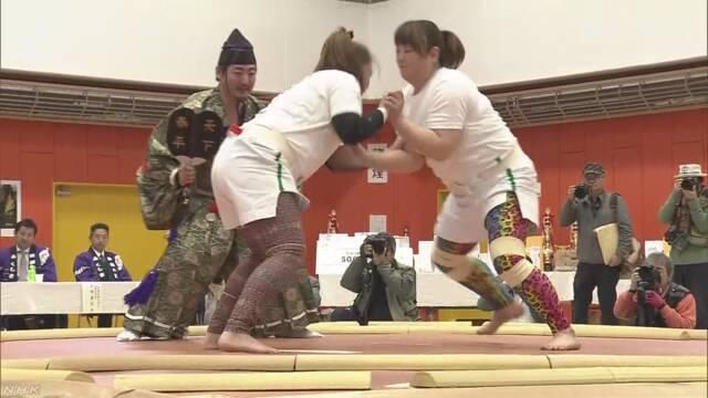 北海道福島町が今年も女性の相撲大会を開く