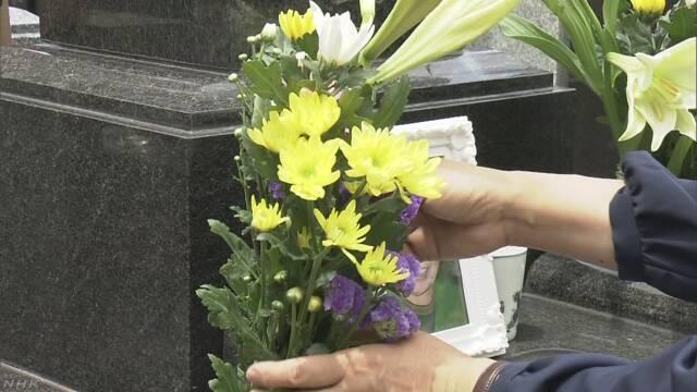 母の日 亡くなったお母さんのお墓に行く人が増える