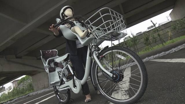 幼児用座席付き自転車で転倒 子どもの救急搬送相次ぐ