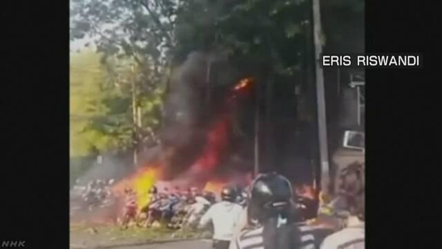 インドネシア 教会爆発はIS支持の男と一家の自爆テロ