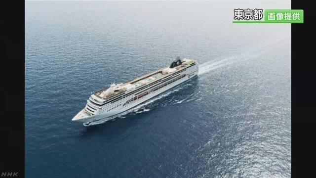 東京都 ホテルの代わりに使う船 スイスの会社と相談