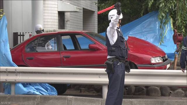 90歳が運転する車の事故で1人が亡くなって3人がけが
