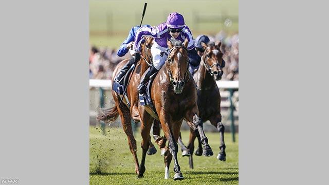 イギリスの「ダービー」 日本で生まれた馬がいちばんの人気