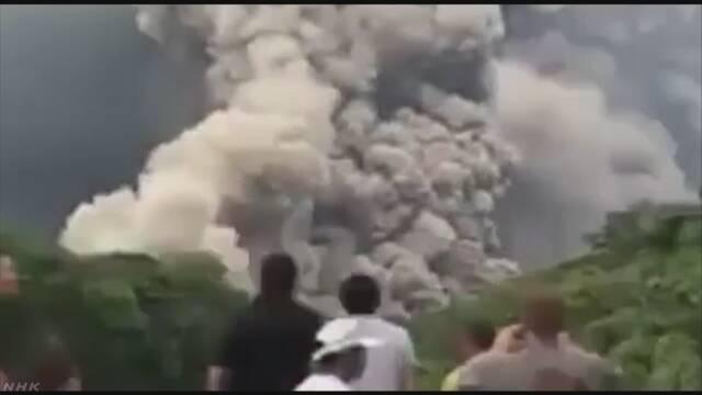 グアテマラのフエゴ火山が噴火 60人以上が亡くなる