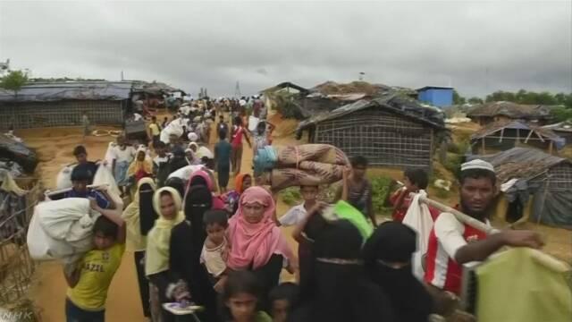 国連「外国やほかの町に逃げる難民が増え続けている」