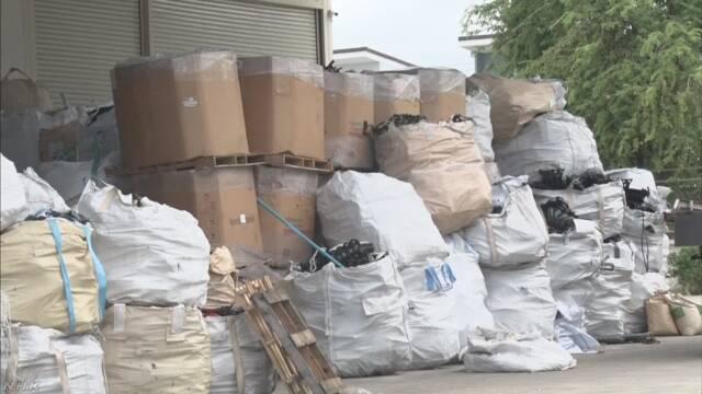 タイ プラスチックなどのごみの輸入を禁止すると発表