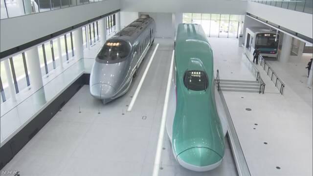 鉄道博物館 新しい建物が来月オープンする