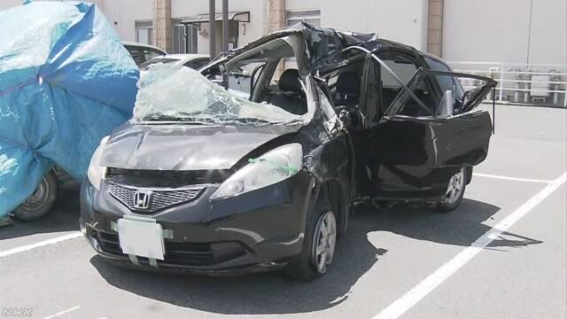 岡山県で中学生だけが乗っていた車が事故 1人亡くなる