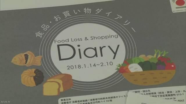 消費者庁「家庭で捨てる食べ物が40%少なくなった」