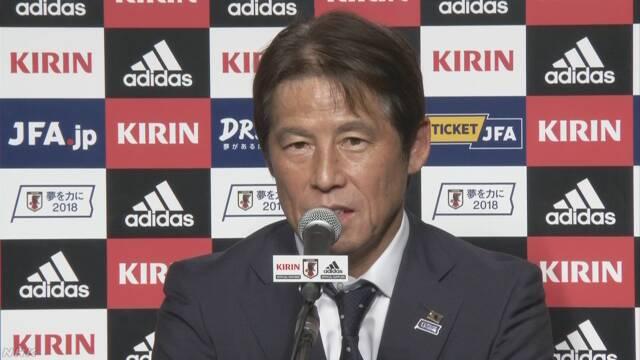 サッカーの日本代表の西野監督は7月でやめる