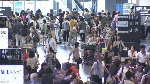 夏に外国へ旅行に行く人が今まででいちばん多くなりそう