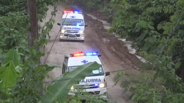 タイ 洞窟にいた13人をみんな助ける