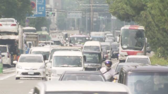 岐阜や京都で4日連続38度超 18日も熱中症に警戒