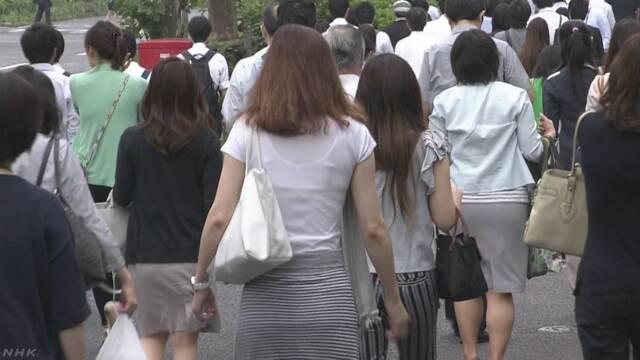 子どもがいる女性のうち仕事をしている人が70%以上になる