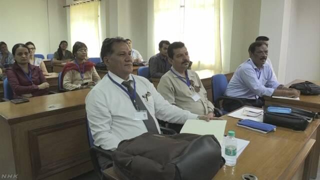 インド 日本語の先生を育てるためのコースが大学にできる
