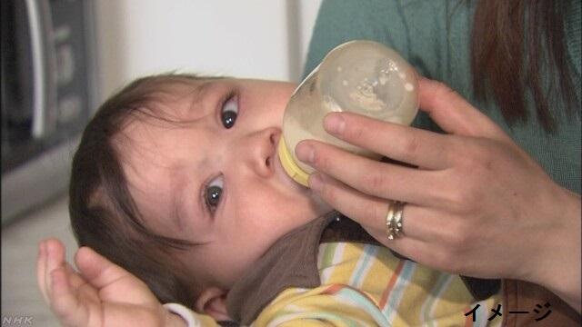 赤ちゃんの「液体ミルク」を売ることができるようになる