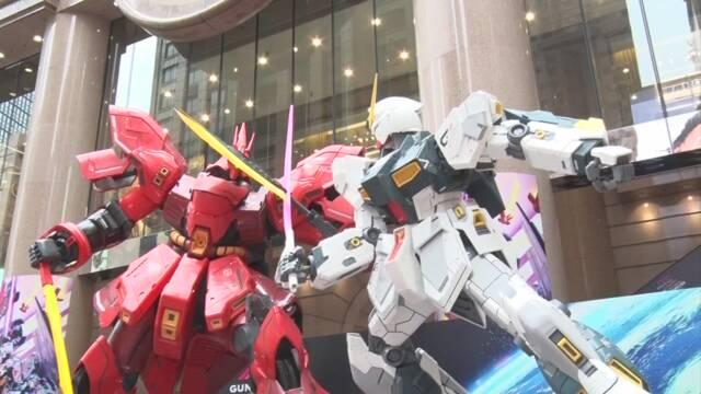 巨大な「機動戦士ガンダム」像が登場 香港