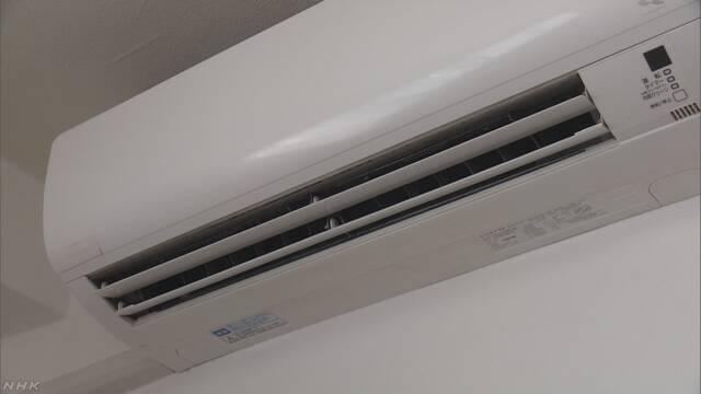 7月に工場で生産したエアコン 今まででいちばん多い