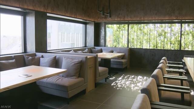 アメリカのロサンゼルスの「ジャパン・ハウス」が全部オープン