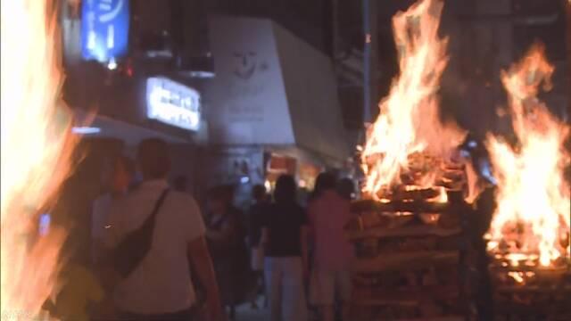「吉田の火祭り」 富士山の登山の季節がもうすぐ終わる