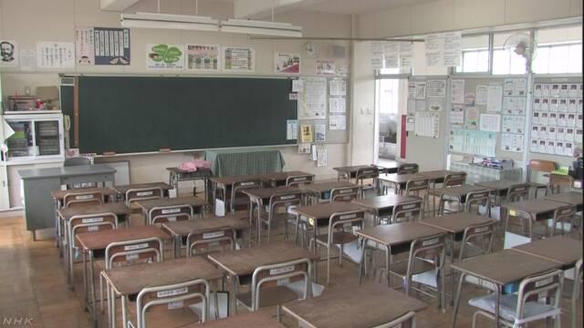 埼玉県加須市 予報でとても暑くなる日は学校を休みにする