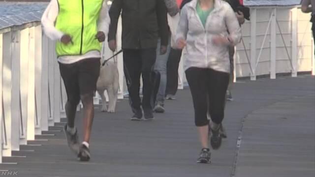 WHO「18歳以上の4人に1人は運動が足りない」