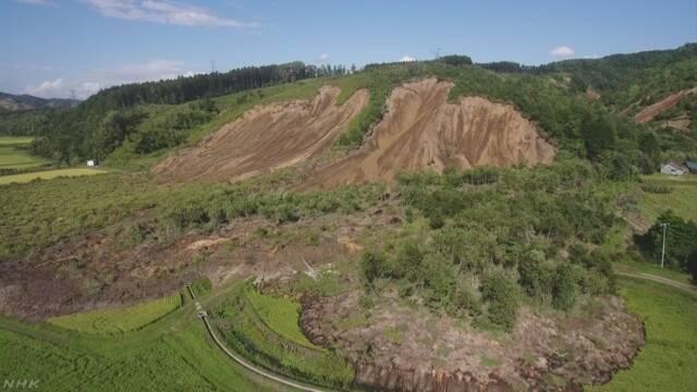 北海道で大きく揺れる地震 厚真町では震度7