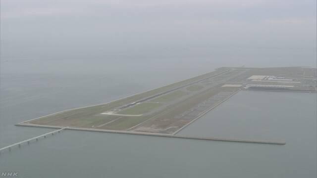 関西空港 国内線の一部の飛行機が飛び始める