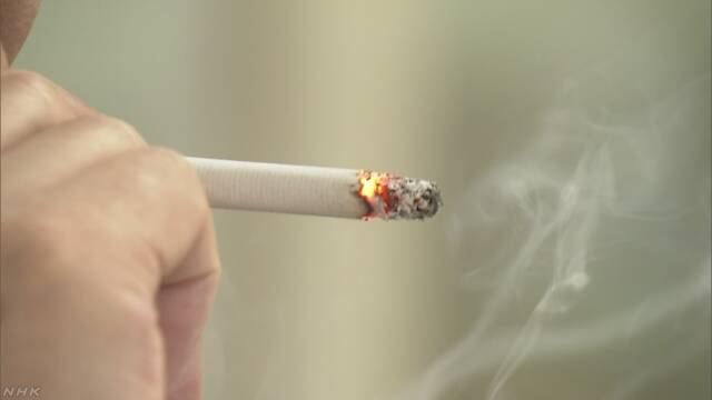 たばこを吸う男性の割合が初めて30%より低くなる