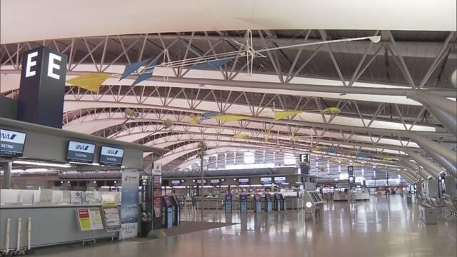 関西空港 国際線の飛行機も飛び始める
