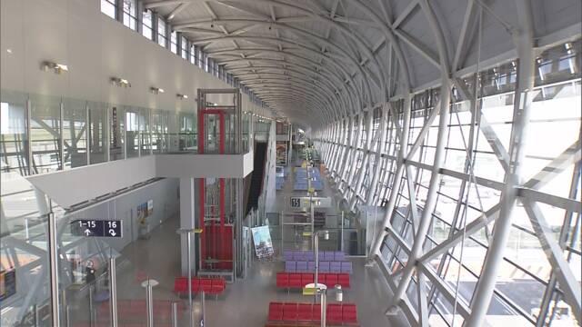 台風で壊れた関西空港 全部を使うことができるようになる