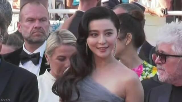 中国 女優に税金と罰金を140億円払うように命令する