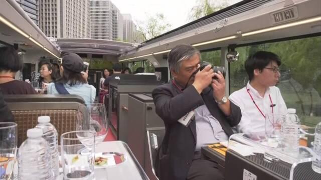 「レストランバス」が東京でも走り始める