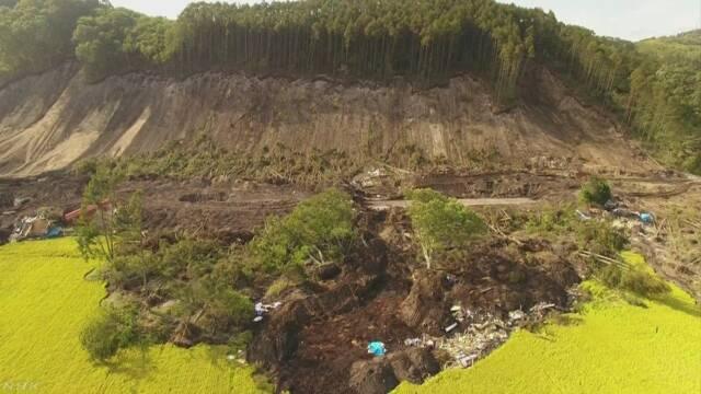 北海道の地震 山が崩れた面積は今まででいちばん広い