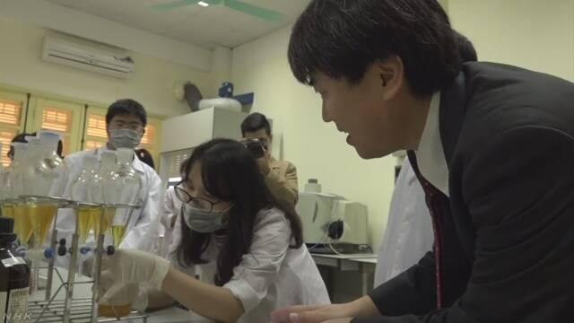 東京大学がベトナムの大学で教える「優秀な学生を集めたい」