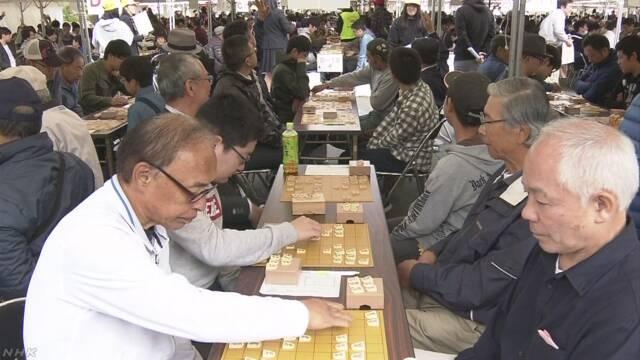 1つの会場で2362の将棋の試合をして世界記録になる