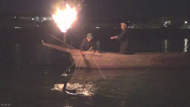 岐阜県の長良川 鵜飼いの季節が終わる