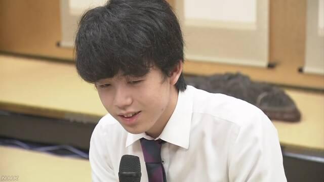 将棋の藤井聡太さんが新人王戦で優勝 いちばん若い記録