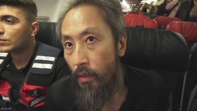シリアで捕まっていた安田純平さんが日本に帰る