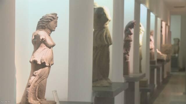 シリア 6年前から休んでいた国の博物館がオープンする